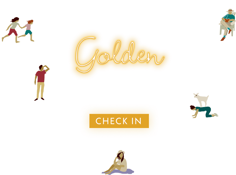 ast Summer at the Golden Hotels by Elyssa Friedland